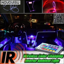 цена на Wireless IR Control Car Interior Ambient 16 Color changing Light / DIY Instrument Panel Dashboard Cool Light Tuning For All Car
