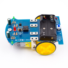 Smart Tracking Robot Car DIY Soldering Project Kit with DC Motor School Electronics