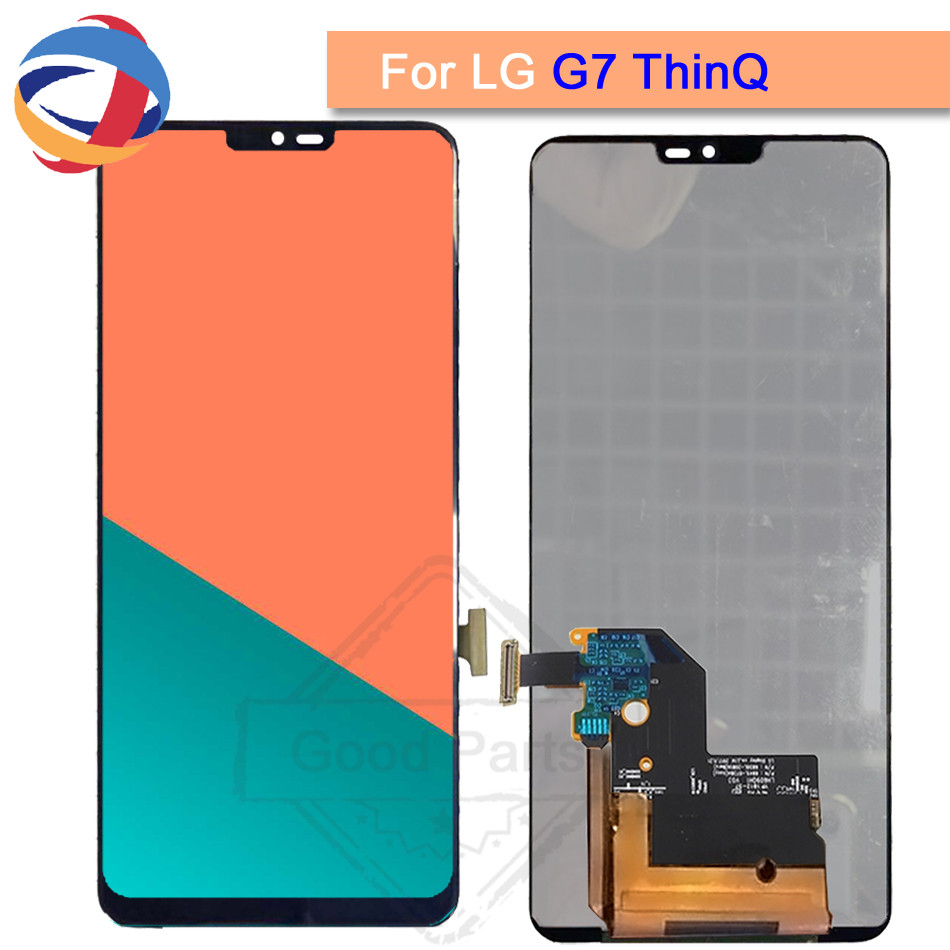 6.1100% Test For LG G7 LCD G710 G710EM G710PM G710VMP Display Touch Screen Digitizer Assembly For LG G7 ThinQ lcd Replacement 6.1100% Test For LG G7 LCD G710 G710EM G710PM G710VMP Display Touch Screen Digitizer Assembly For LG G7 ThinQ lcd Replacement
