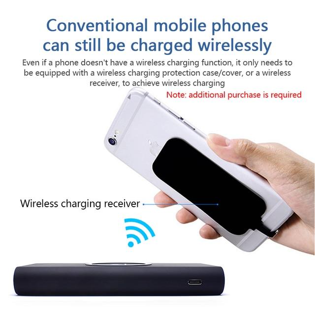 10000mAh Quick Charge Wireless Powerbank 4