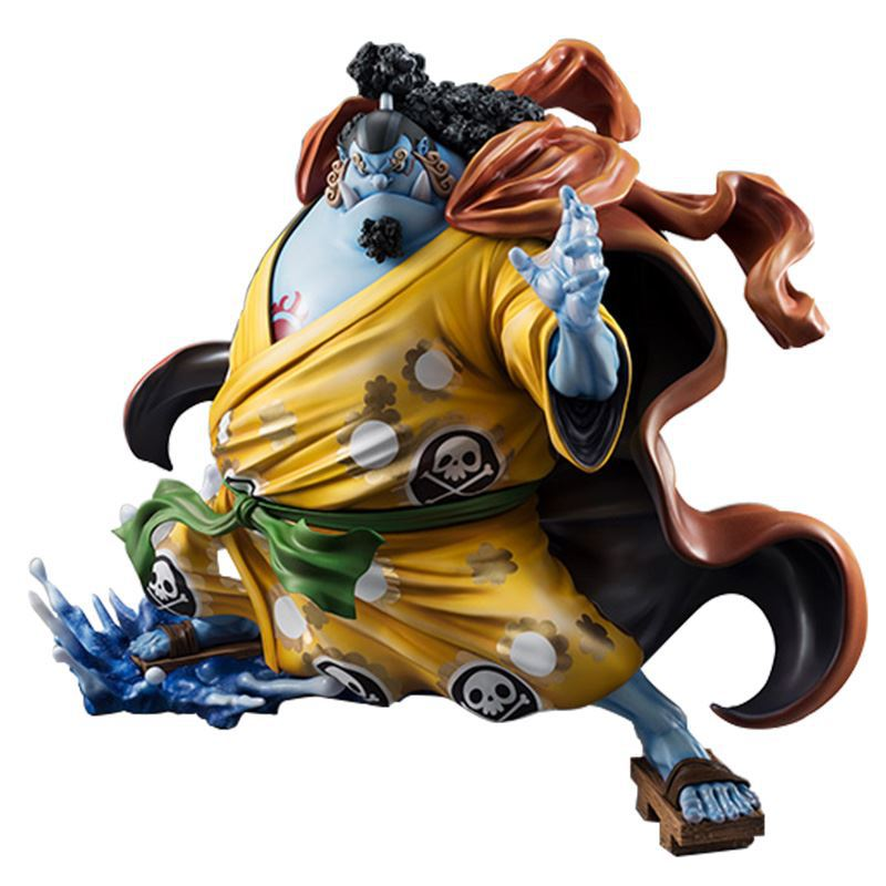 все цены на One Piece Action Figure Anime Model Jinbe Dolls Decoration Classic Collection Figurine Christmas Toys for Gifts 25cm онлайн