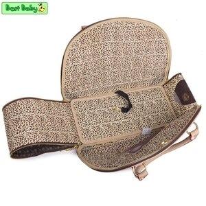 Image 3 - Bolsa de transporte de animais de luxo, bolsa transportadora para cães pequenos dobrável, portátil para carregar o chihuahua yorkshire