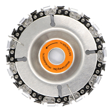 Abrasive Tools 4 Inch Angle Grinder Disc and Chain 22 Tooth Fine Cut Set For 100/115 Grinding Machine Saw