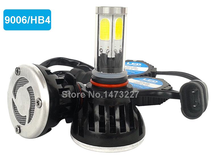 H4 H7 H13 H11 H1 9005 9006 COB LED Headlight 80W 8000LM Super Brigh Car LED Headlights Bulb Head Lamp Fog Light Pure White 6000K (8)