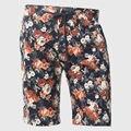 Homens da Cópia Floral Shorts Designer Havaí Calções de Verão Na Altura Do Joelho Metade Bottoms Masculino Solta Cintura Com Cordão de Algodão Hip Hop Urbano