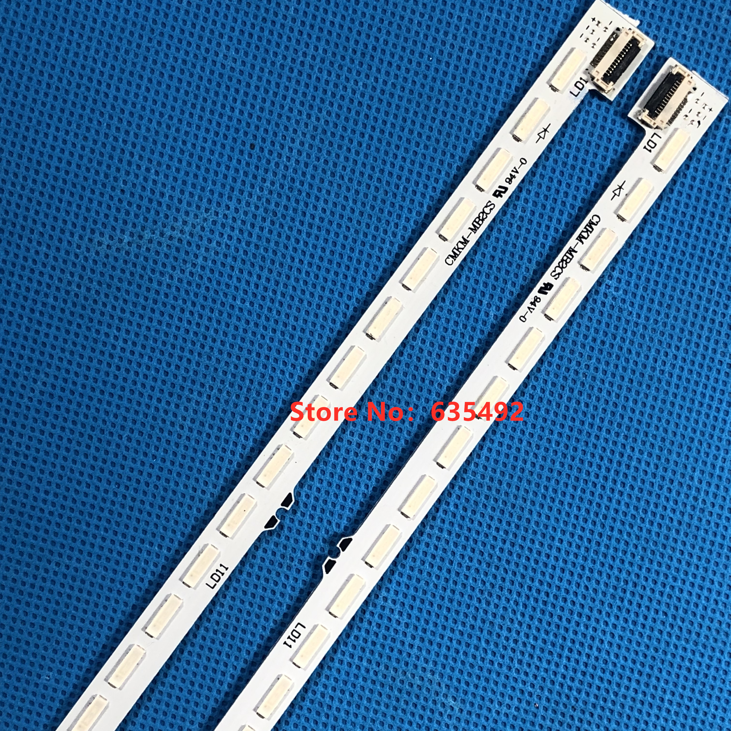2PCS LED Backlight Strip 36lamps For 55inchTV S Ony  KDL-55W900A KDL-55W905A  P61.P8302G001 NLAC20217L NLAC20217R