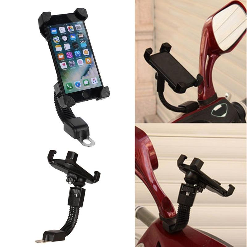 Image 3 - Motorcycle Mobile Phone Holder Electromobile Motor Mount 3.5 6.5 inch Phone Stand-in Phone Holders & Stands from Cellphones & Telecommunications on