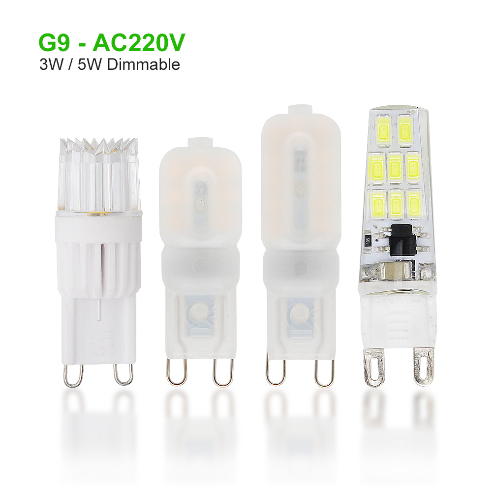 25OFF chandelier 30W G9 LED Dimmable Bulb For US0 replace in 3W Candle ANBLUB LED Lamp 40W Light Lamparas 5W 20W 230V 220V 8 AC halogen Spotlight iPZOkXuT