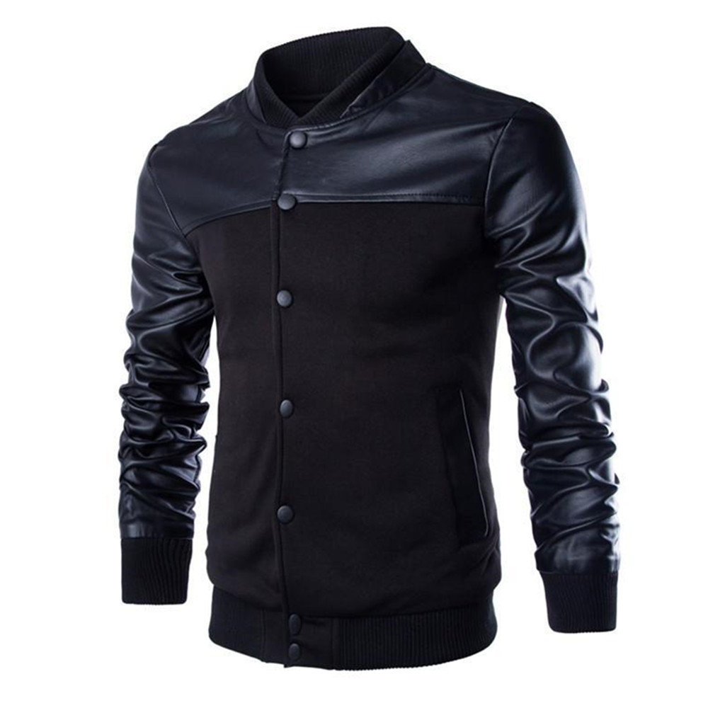Outdoor leather jacket