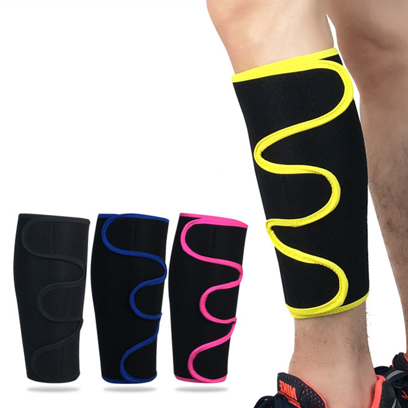 1pc Polyester Fabric Sport Calf Brace Sleeve Support Leg Compression Socks Elbow Guard Pad for MTB Road Cycling Bike Bicycle