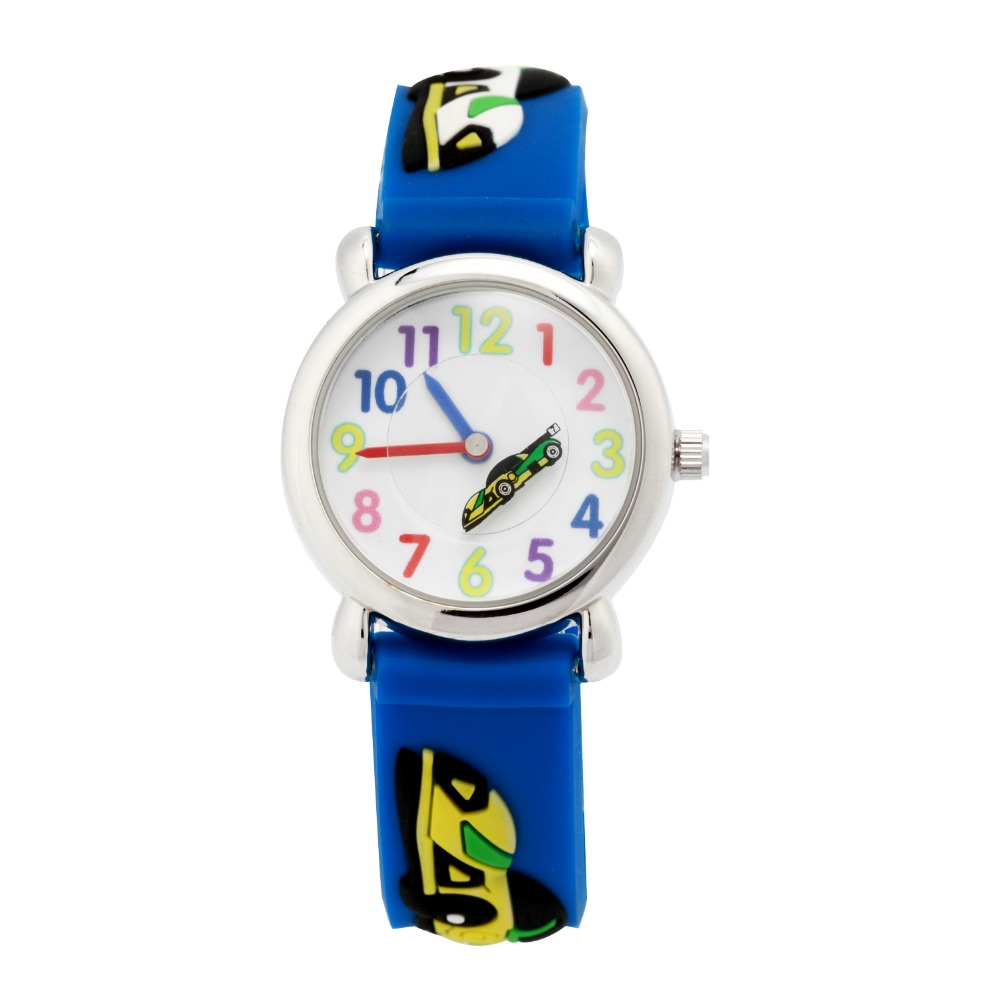 New Arrival Kids Watches Children Girls And Boy Silicone Racing Brand Quartz Fashion Casual Watch Relogio Clock
