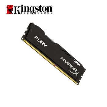Original Kingston HyperX FURY 4GB 8GB 16GB DDR4 2400MHz Desktop RAM Memory CL15 DIMM 288-pin Desktop Internal Memory For Gaming