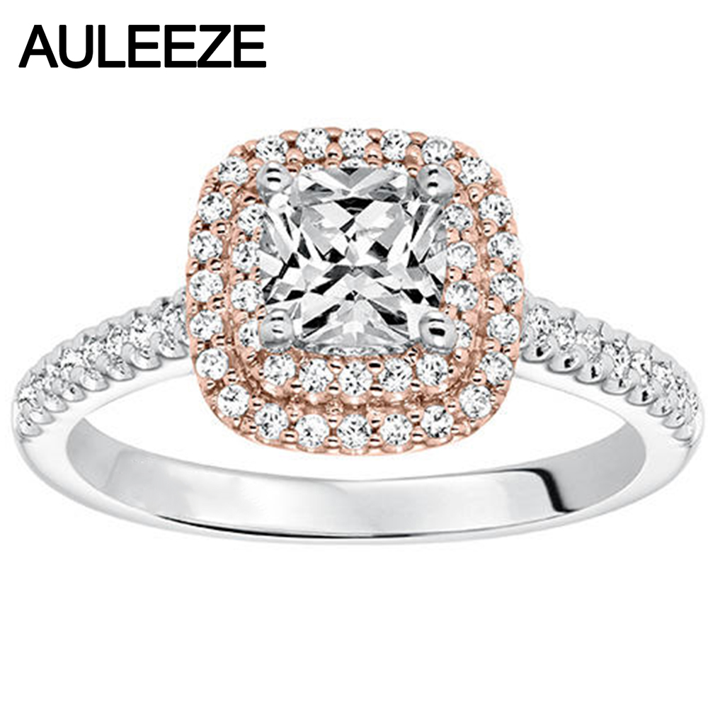 halo ring engagement a rings double cushion cut diamond modern