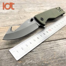LDT X23A Folding Knife 8Cr13Mov Blade Carbon Fiber Handle Survival Tactical Military Outdoor Knives Pocket Camping EDC