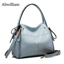 Aliwilliam 2017 Mode Frauen Echter Lederner Beutel Berühmte Designers Marke Handtasche Luxus Rindsleder Schulter Messenger Bags