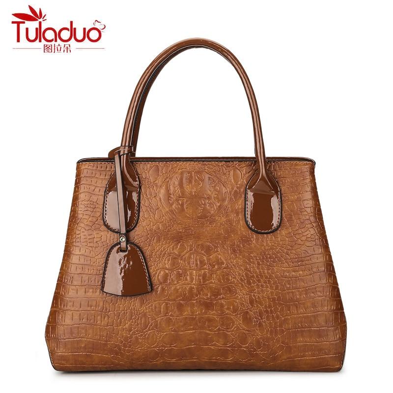 цена на Fashion Alligator Women Handbags Large Capacity Women Shoulder Bags High Quality PU Leather Women Tote Bag Mujer Bolsos Saffiano
