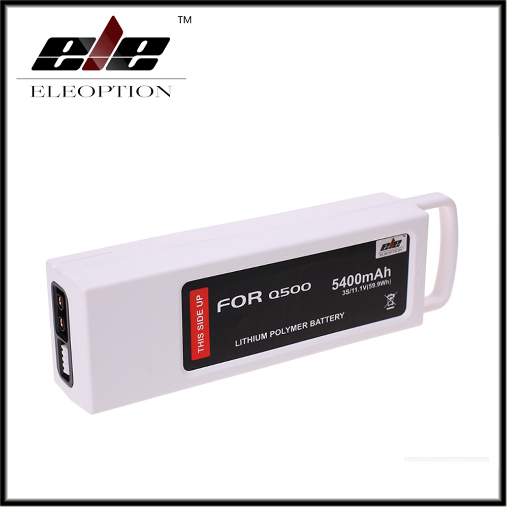 ФОТО Eleoption 11.1 Volt Battery For Yuneec Q500 Series RC Drone 11.1V Lipo 3S / 3-Cell 5400mAh