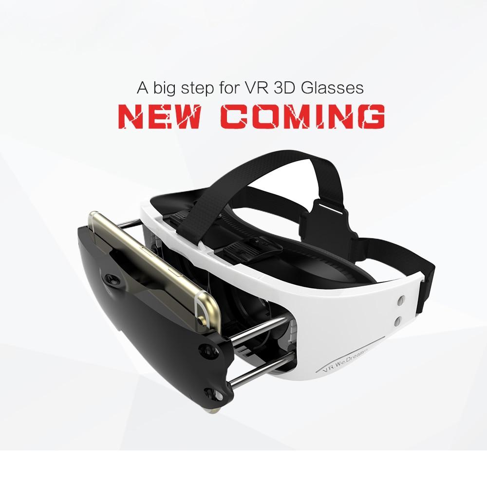 New Coming Pull Rod Designer <font><b>VR</b></font> <font><b>Virtual</b></font> <font><b>Reality</b></font> <font><b>Glasses</b></font> 3D Movie Watching <font><b>Headset</b></font> Lens <font><b>Adjustable</b></font> Smaller and Portable