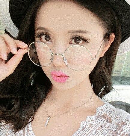 brand designer eyeglass frames women glasses 2017 new style glass frames for men retro metal small