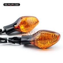 Para HONDA CTX 700 CTX700/N/DCT CTX700N 2014 2015 Ámbar Motocicleta Accesorios de Recepción de señal de Vuelta Luz Indicadora lámpara de 3 cables
