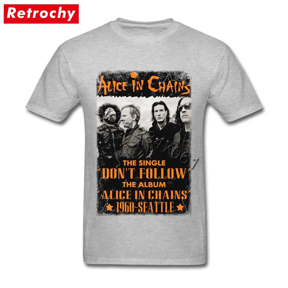 e6ccd212 80s Style Vintage Alice In Chains T Shirt Men Shirt for Men BGrunge Metal  Tshirt Cheap