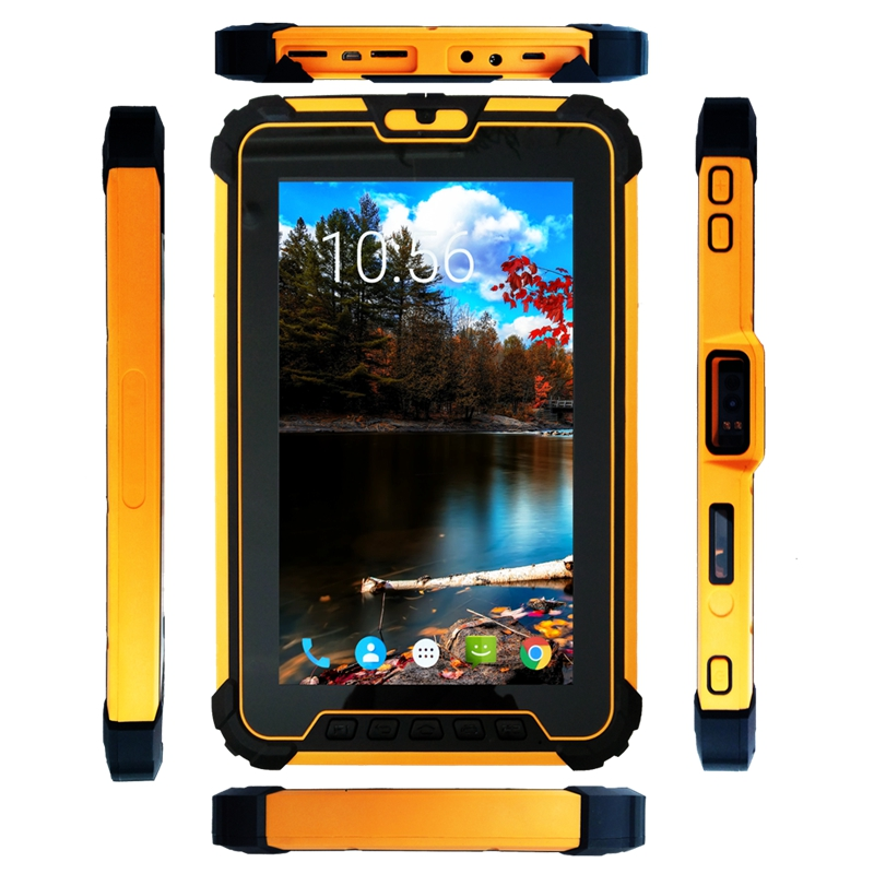 Image 4 - 8 inch Android 7.1 Rugged Tablet PC with 8core CPU, 2GHz Ram 4GB Rom 64GB With 2D Barcode Scanner ST827-in Industrial Computer & Accessories from Computer & Office