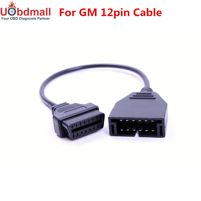 Diagnostic Cable for GM 12 Pin ODB to 16pin OBDII Diagnostic Connector
