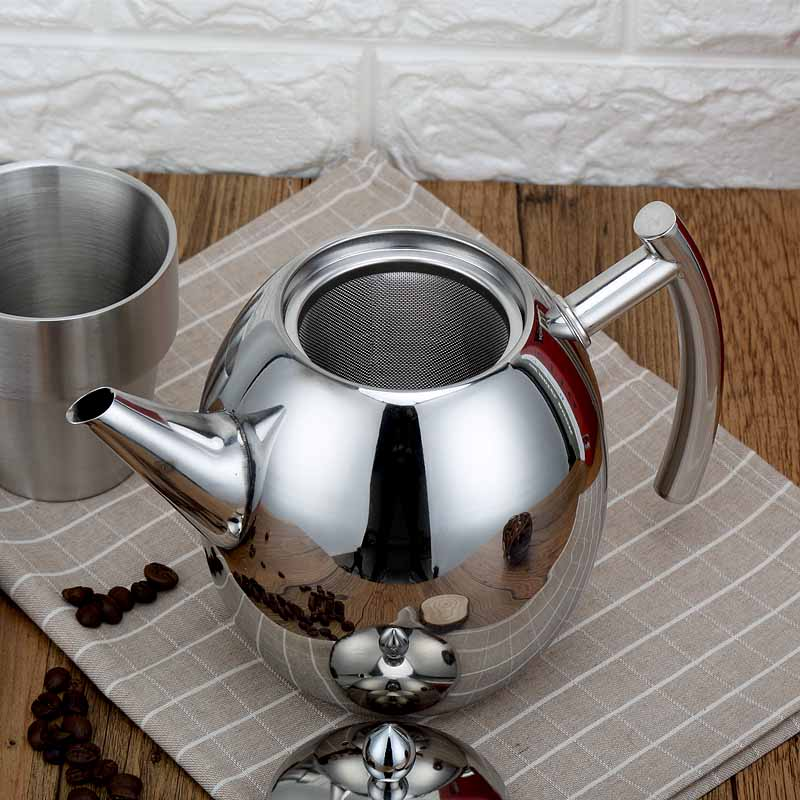 Tea Kettle Water pot with Filter Mini Kettle Office Desk use Induction work 1/ 1.5Litre Water Kettle Kitchen Cookware