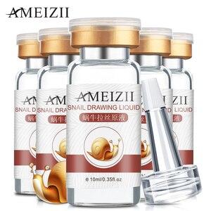 Image 3 - AMEIZII Snail Essence Hyaluronic Acid Serum Moisturizing Whitening Lifting Firming Essence Anti Aging Face Skin Care Repair 1Pcs