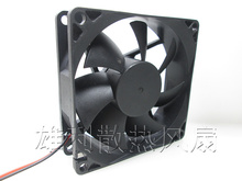Free Delivery.8cm fan ultra-quiet air flow bearing 8 cm fan power fan chassis 4D 12V wholesale nzxt df1402512sedn 12v 1 68w 0 14a 140 140 25 14cm chassis power supply fan