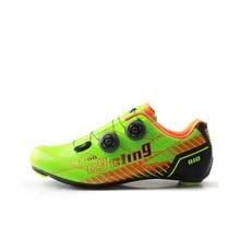 Tiebao дорожный велосипедная обувь легкая шоссейная велосипедная обувь из углеродного волокна шоссейная велосипедная обувь G1680