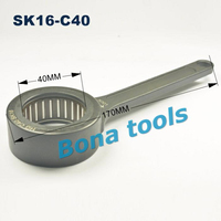 Surface treatment GSK/SK Ball Wrench SK16 Dia.40mm length 170 Spanner for SK Collet Chuck SK NUT CNC Milling Tools Free shipping