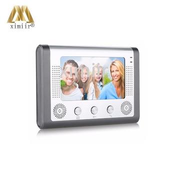 "Fashionable 7""color TFT LCD With IR Camera Night Handsfree Monitor Video Door Bell Color Screen Video Door Phone 801M11"