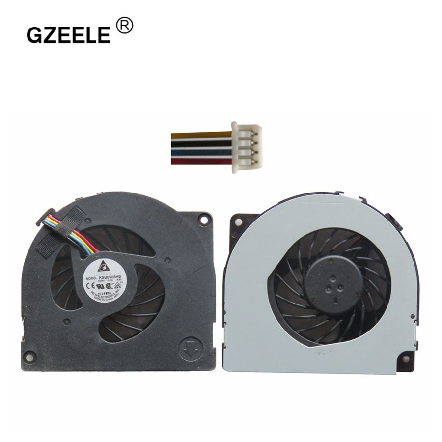 GZEELE New Cpu Cooling Fan For ASUS A40J A42j A42JR A42JV X42J K42J P42J K42JR K42 Notebook Radiator Cooler Cooling Fan 4 Lines