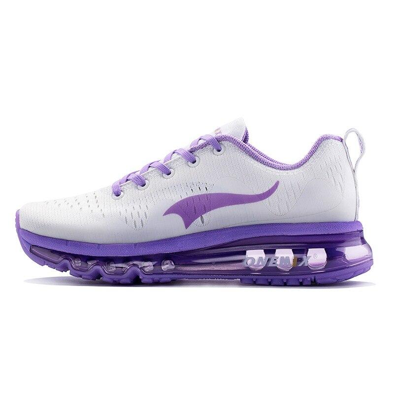 Onemix Wanita Berlari Sepatu Olahraga Outdoor Sneakers Bernapas Luar  Ruangan Berjalan Jogging Sneakers Di Musim Panas 55aea73888