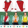new pikachu Pokemon Go ash ketchum team instinct mystic valor Trainer Figure  Hoodies Sweatshirts Men Pullover Tops Cosplay Hot