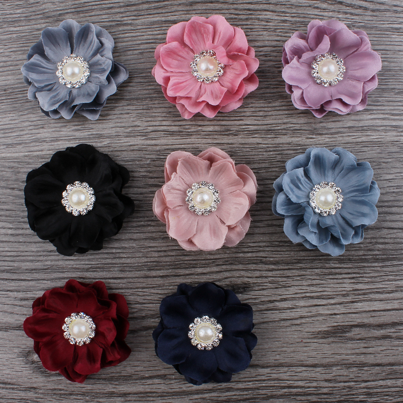 Next Create A Bunch Of Rolled Fabric Flowers