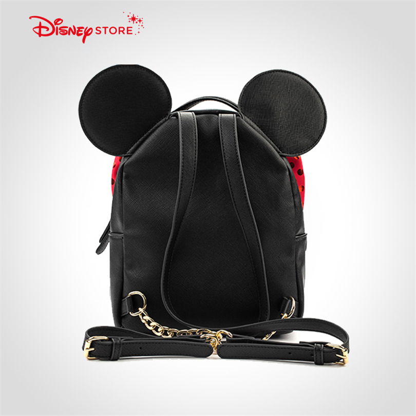 d1ee0d1b161d Disney Mickey Mouse Women s Backpack Brand Fashion High Quality PU Leather  Schoolbag Bags for Teenager Girl Student Bag A248-in Backpacks from Luggage  ...