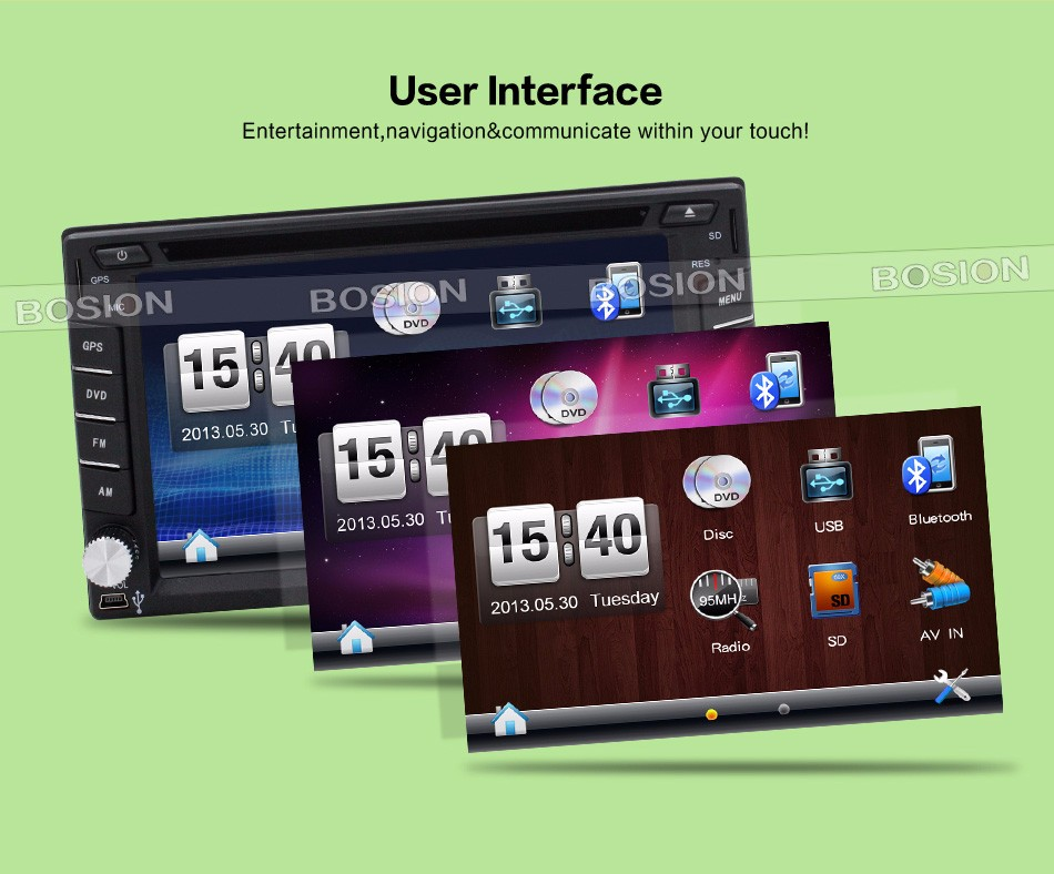 2 din car stereo android
