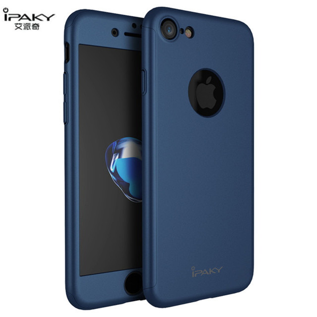 iphone 7 plus case and glass screen protector