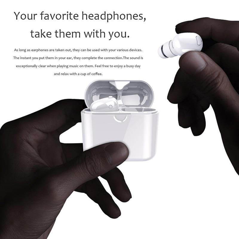 Casque sans fil Bluetooth Écouteurs Sport Casque Fone de ouvido Pour iPhone Samsung Xiaomi Ecouteur Auriculares 2018 Date