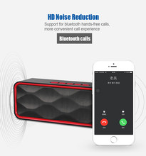 Fu&y Bill New Wireless Mini Bluetooth FM Speakers Outdoors Hands Free Speaker TF Card USB Stereo Music Sound Box For Smartphones