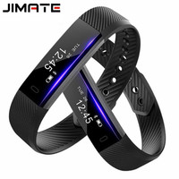 ID115 Smart Bracelet Fitness Tracker Step Counter Fitness Watch Band Alarm Clock Vibration Wristband Pk ID107