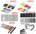 A Estrenar 6 Tipos Assorted PE/PVC/Cable Wire Wrap Poliolefina Heat Shrink Tubing Aislamiento Eléctrico Del Coche Kit