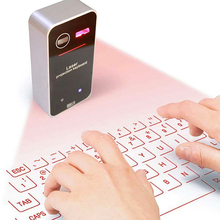 Laser Projection Bluetooth Keyboard+Mouse Virtual English QWERTY Keyboard+mouse for Smartphone PC Tablet Laptop Computer