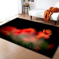 New Pastoral Style Home Carpet flower animal 3D Carpets Rugs for Bedroom Bathroom Living Room Door Kitchen Entrance Mat