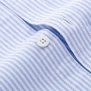 Image 5 - Chemise à manches longues pour homme, de marque, en coton, tenue formelle, Slim, rayée, collection 2018, collection nouveauté