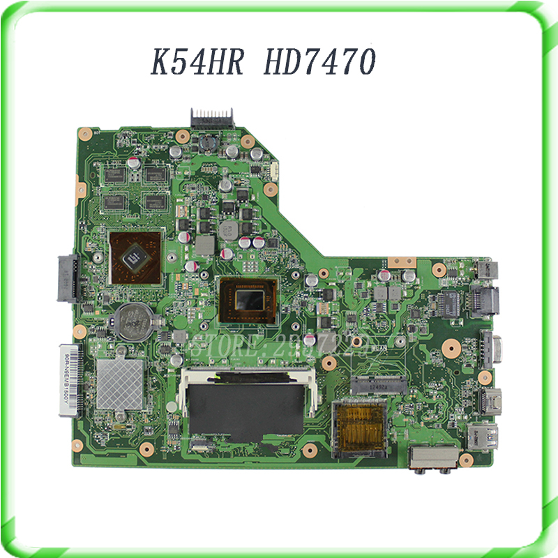 все цены на Laptop motherboard For X54H X54HR K54HR with REV:3.0  I3-2350 cpu onboard HD 74700  tested well& free shipping онлайн