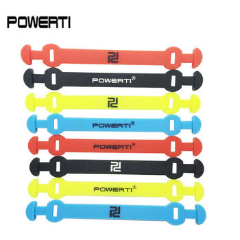 3 sztuk oryginalna marka POWERTI długa wersja tenis tłumik drgań aby zmniejszyć rakieta tenisowa tłumiki drgań raqueta tenis tanie i dobre opinie tennis vibration dampener Innych