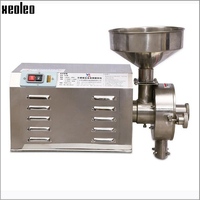 Xeoleo Commercial Grains Grinder Wheat/rice/corn Milling machine stainless steel Whole Grains Grinding machine 30kg/h
